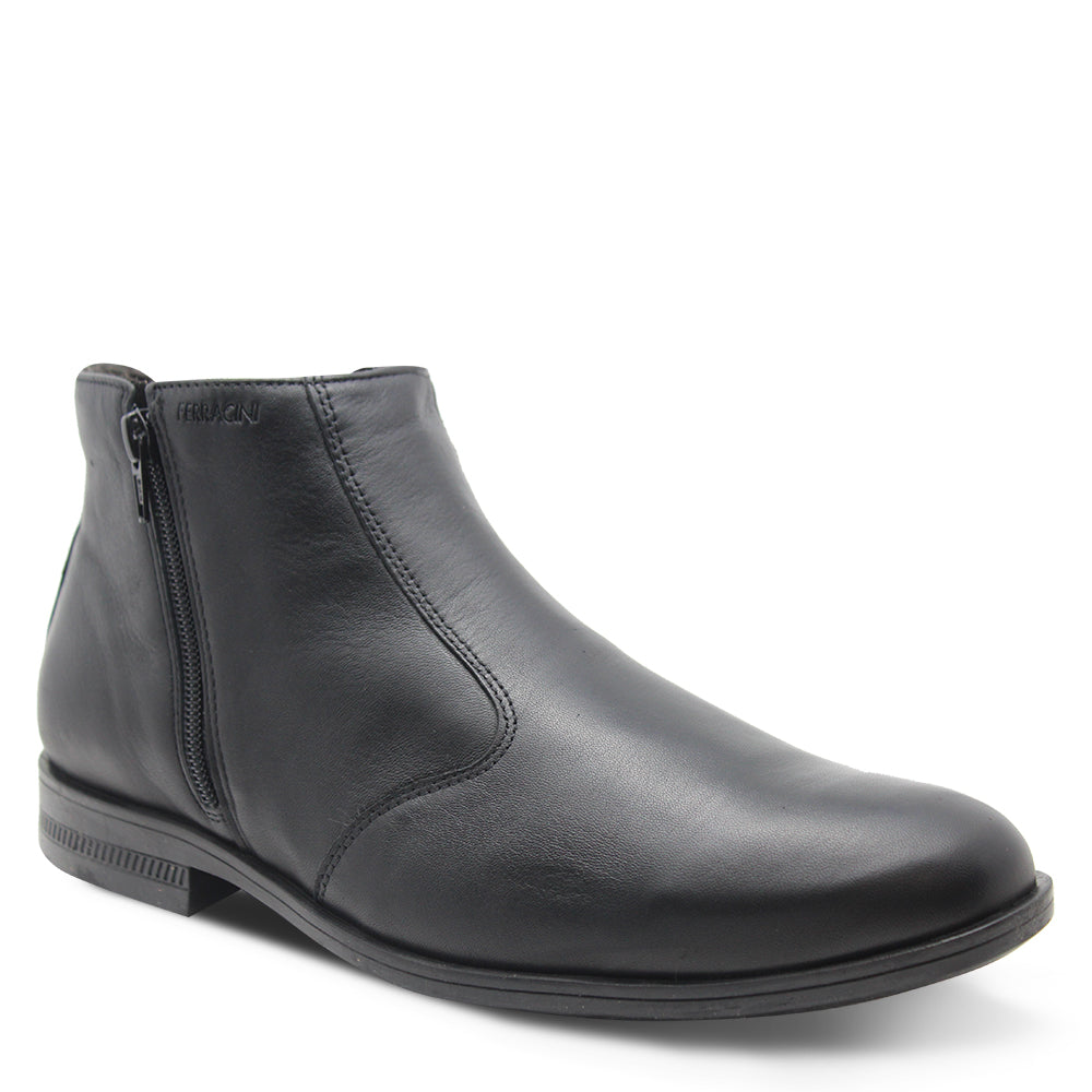 Ferracini March Men's Black Dress Boot
