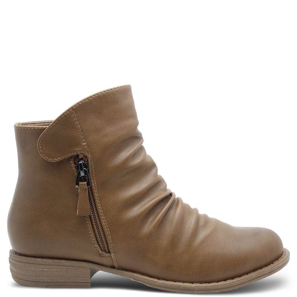 Baylane Espana Tan Women's Flat Boot