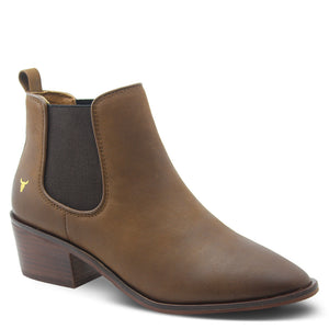 Windsor Smith Jordy Women's Heel Boot Tan