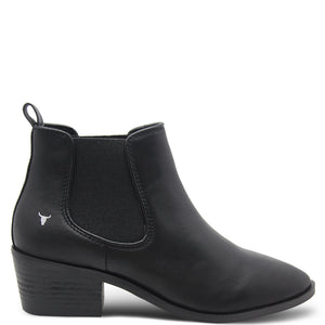 Windsor Smith Jordy Women's Heel Boot Black