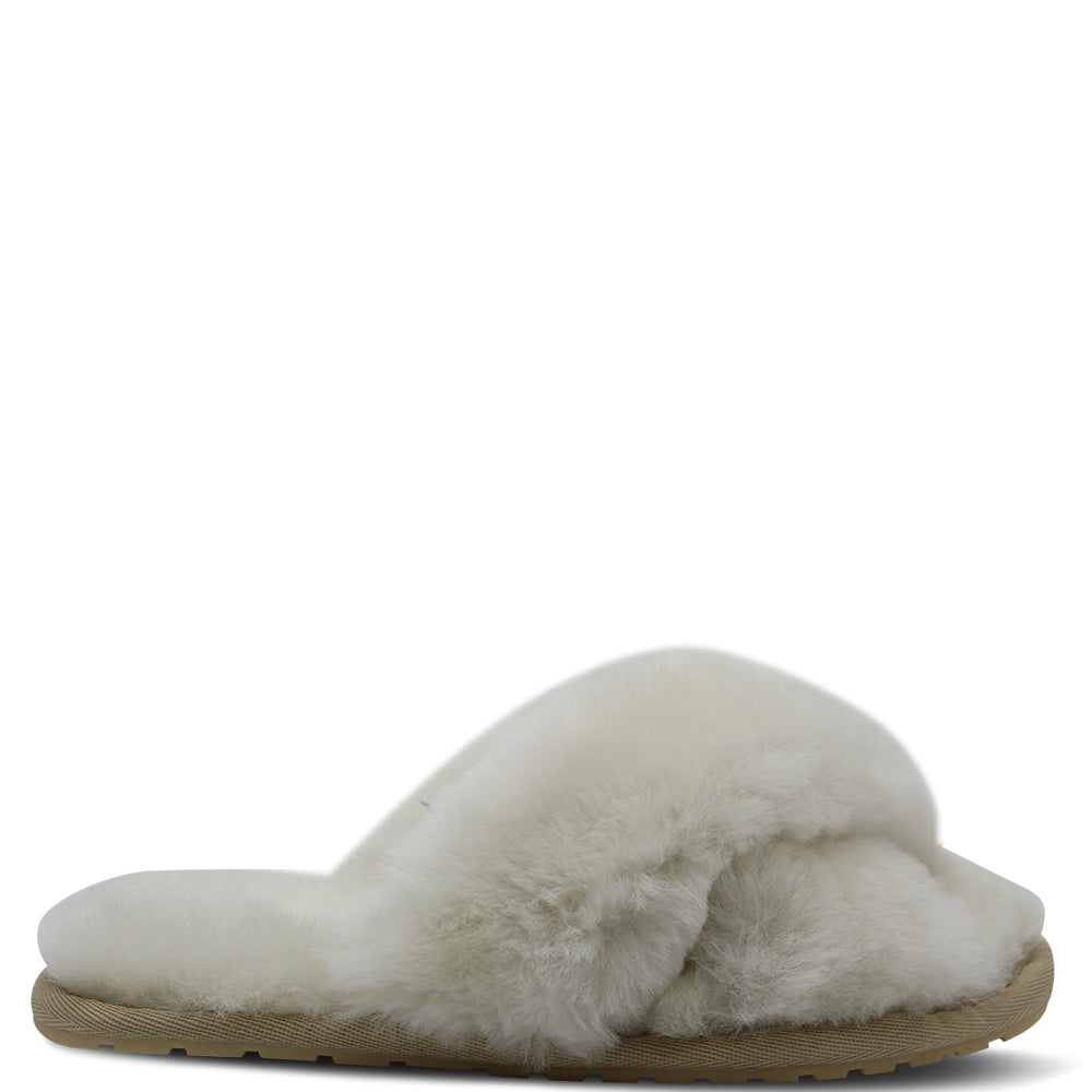 Emu Mayberry Women's Slide Slipper Natural