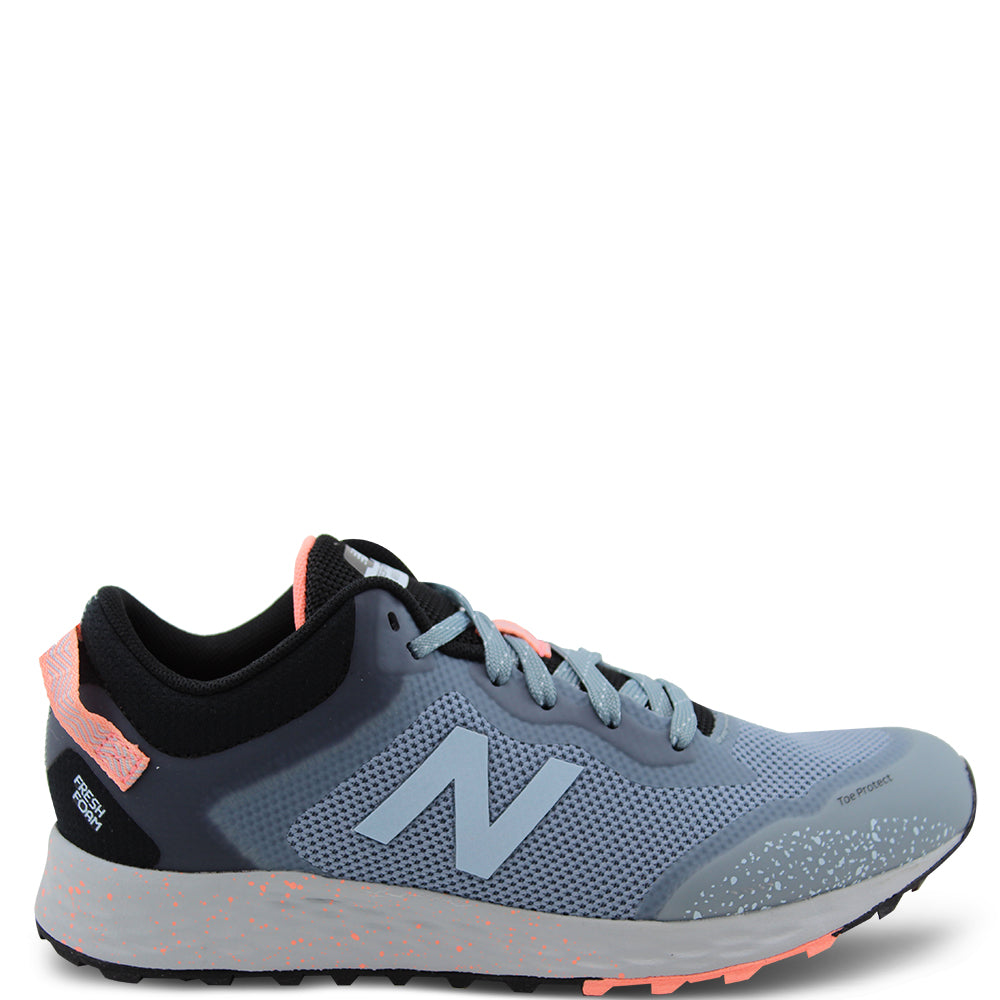 New Balance Arishi GS Kids Running Trail Shoes Grey Coral