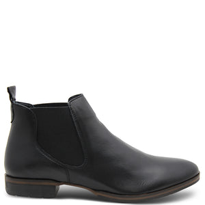 Eos Footwear Gala Women's Flat Leather Black Boots