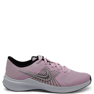 Nike Downshifter 11 GS Running Shoes Pink/Silver