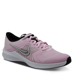 Nike Downshifter 11 Infants Running Sports Shoes Pink/Silver