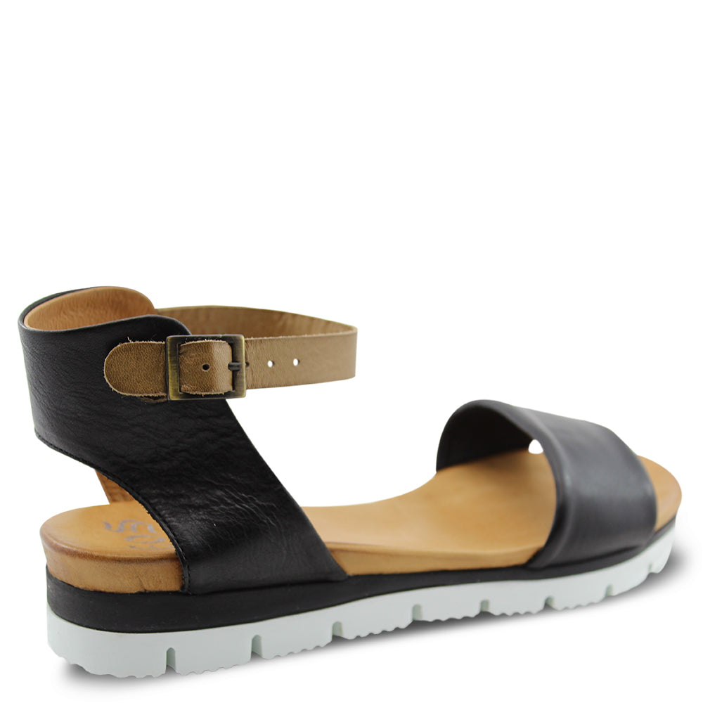 Eos Soda Black Womens Sandal