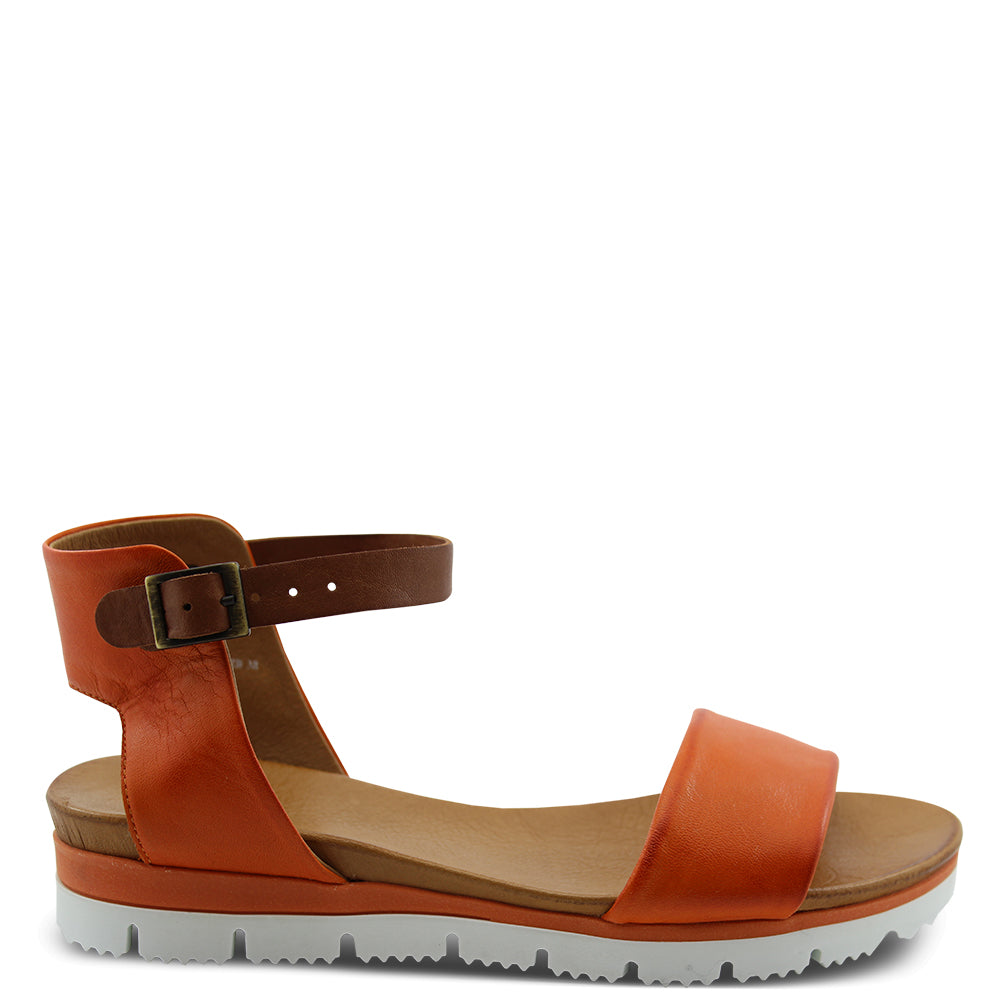 Eos Soda Orange Womens Sandal