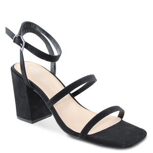 Verali Georgia womens block heel black