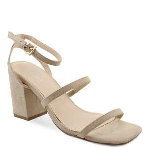Verali Georgia womens block heel natural