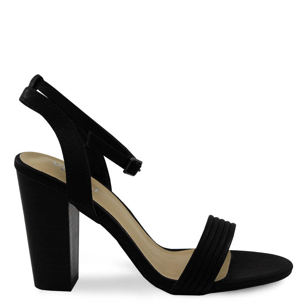 Verali Celsie womens block heels black