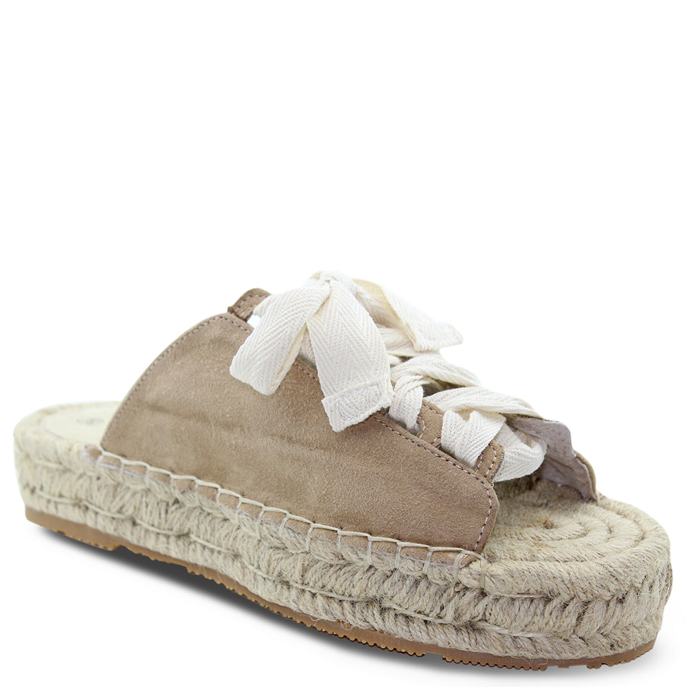 Walnut Mimi Tan Womens Slide