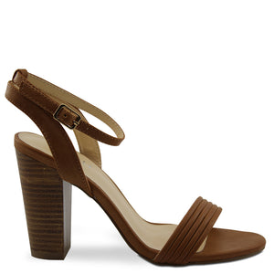 Verali Celsie womens block heels tan