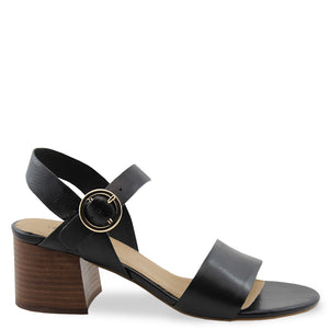 Diana Ferrari Bartley womens block heel black
