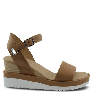 Jo mercer Kenzie Tan Wedge Sandal
