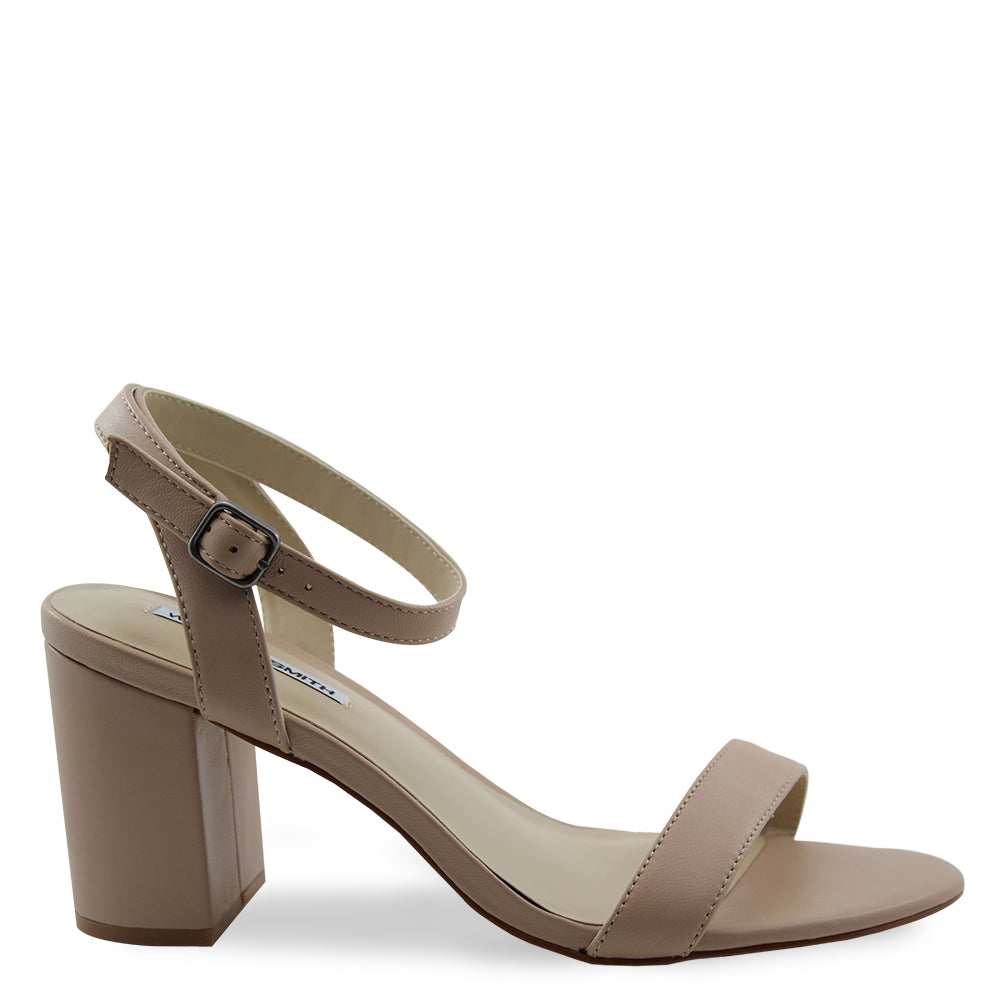 Windsor Smith Lavish Blush Heel Sandal
