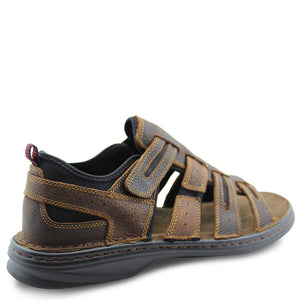 Slatters Torrens Redwood Mens Sandal