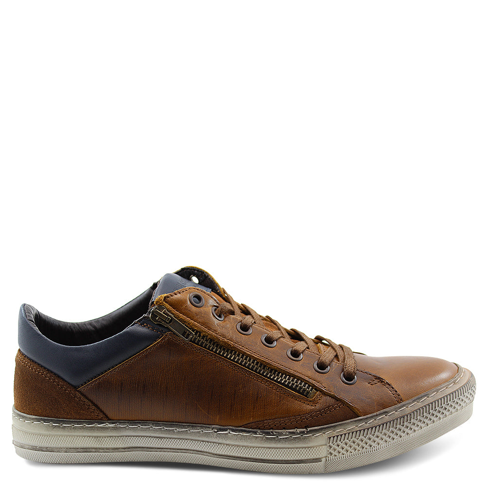 Wild Rhino Jamison mens lace up tan