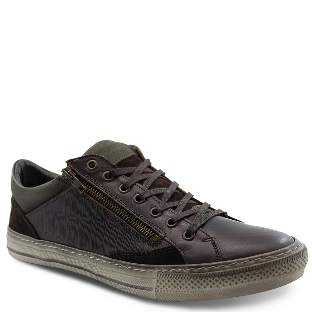Wild Rhino Jamison mens lace up Brown