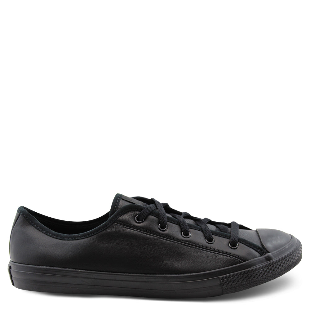 Converse Ct Dainty Black leather school