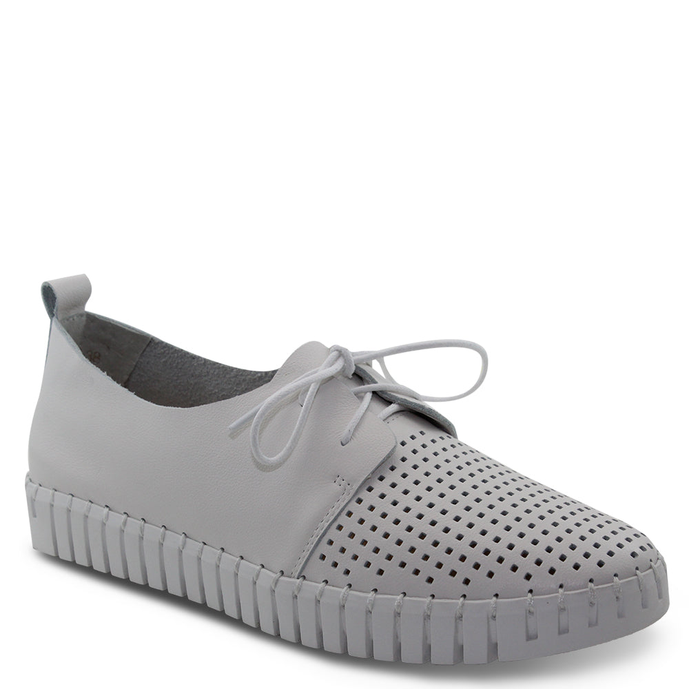 Django & Juliette Huston womens sneaker white