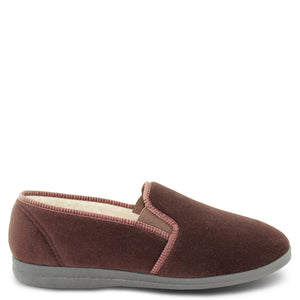 Grosby Percy Brown Mens Slipper