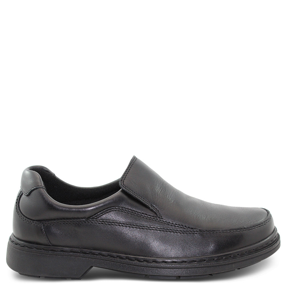 Saramanda Mellow Black Mens Slip On