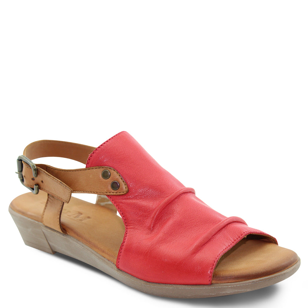 Miss M Aliah Red Womens Sandal