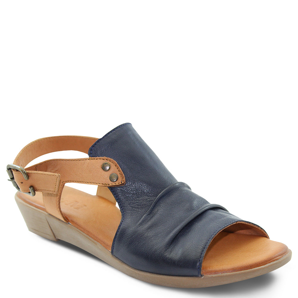 Miss M Aliah Navy Womens Sandal