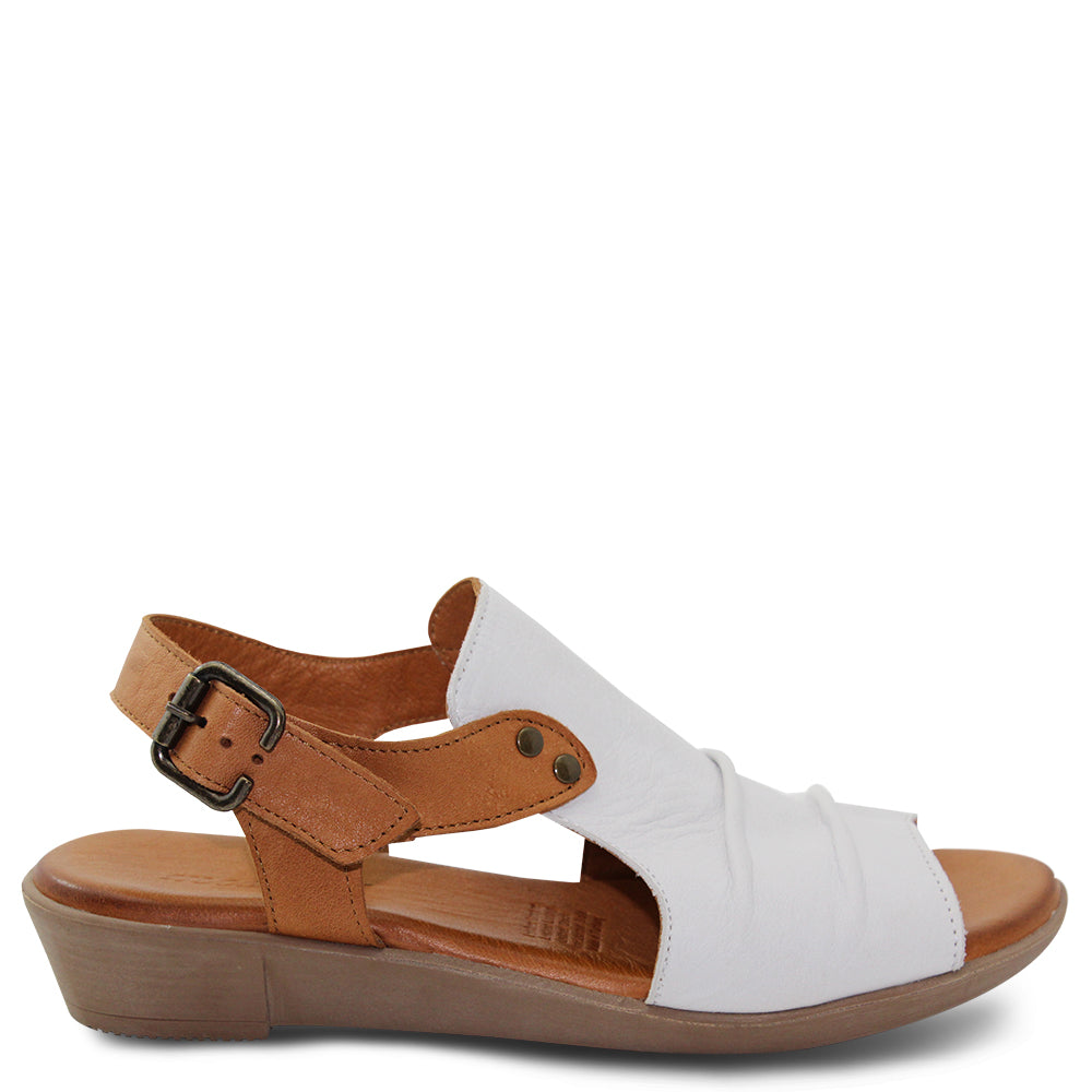 Miss M Aliah White Womens Sandal