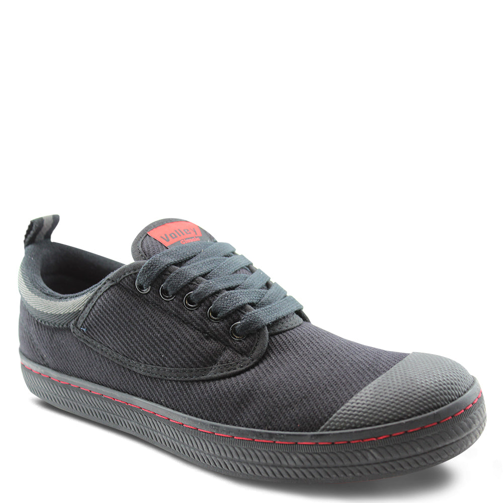Volley Classic Black Canvas
