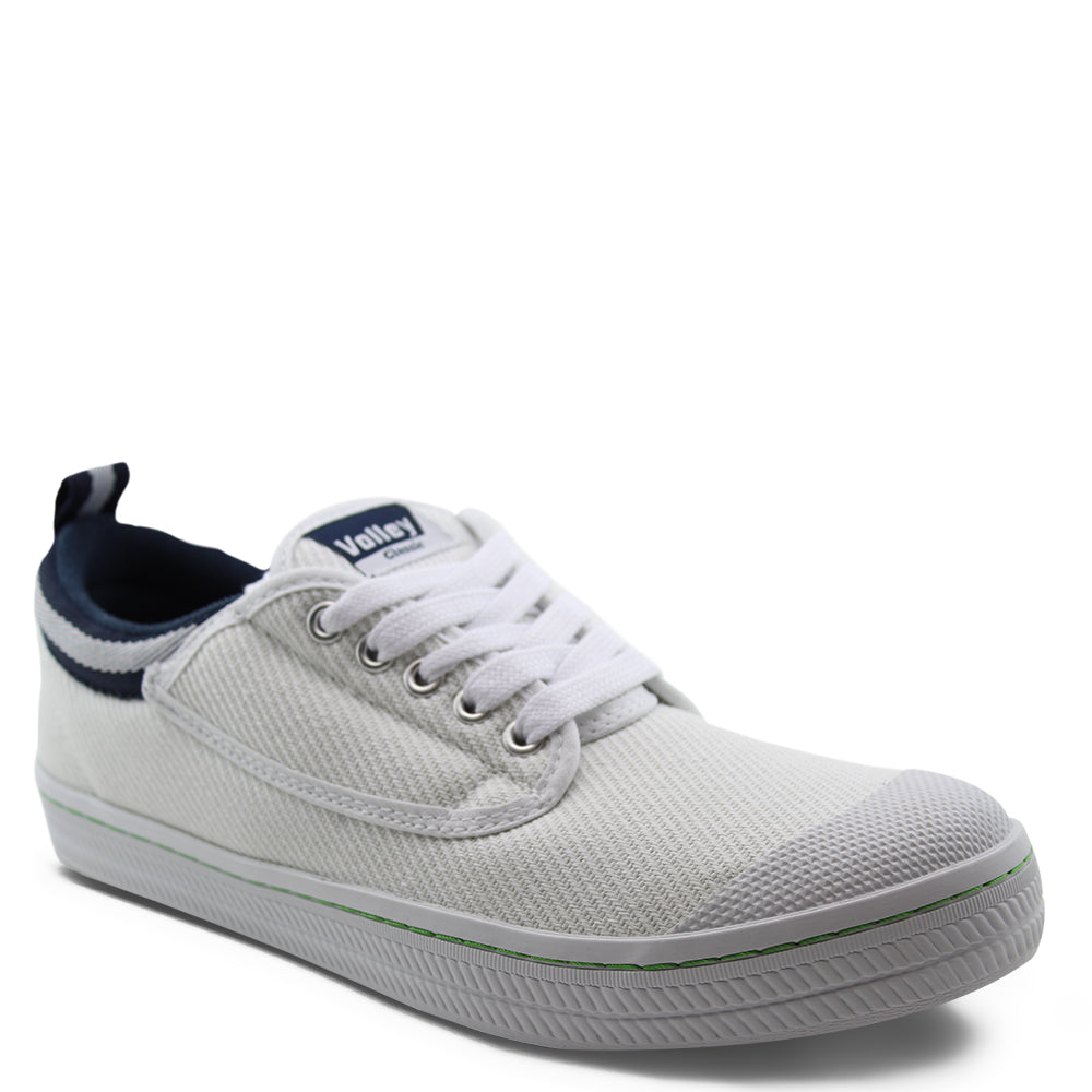 Volley Classic White/Navy Canvas
