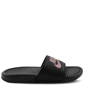 Benassi JDI Black/Rose Gold slide