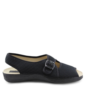 Devalverde sling back slipper Black