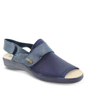 Devalverde 150 Navy womens slipper
