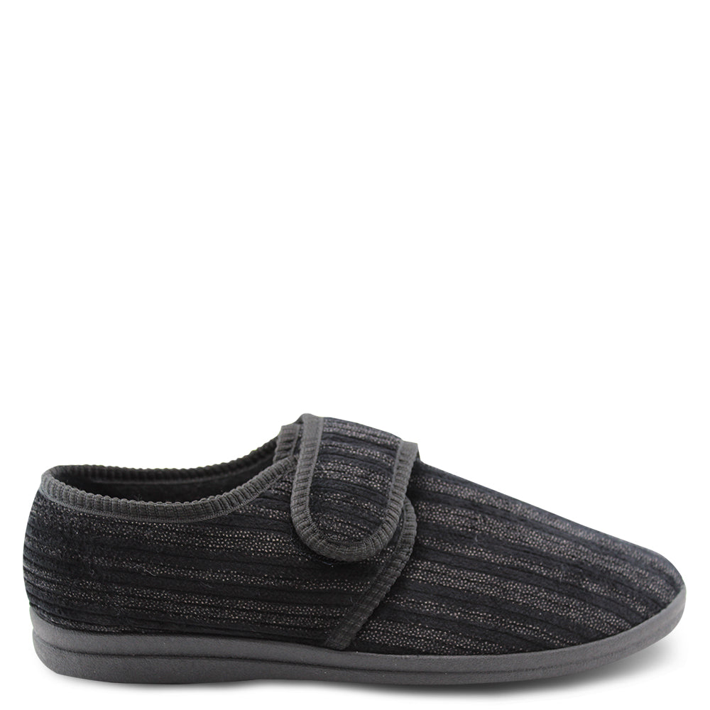 Grosby Thurston Charcoal Mens Slipper