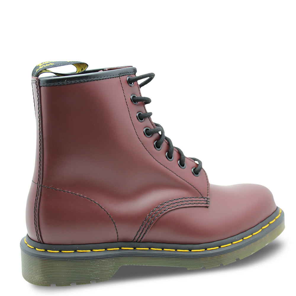 Dr Marten Eight Eyelet Cherry Boot
