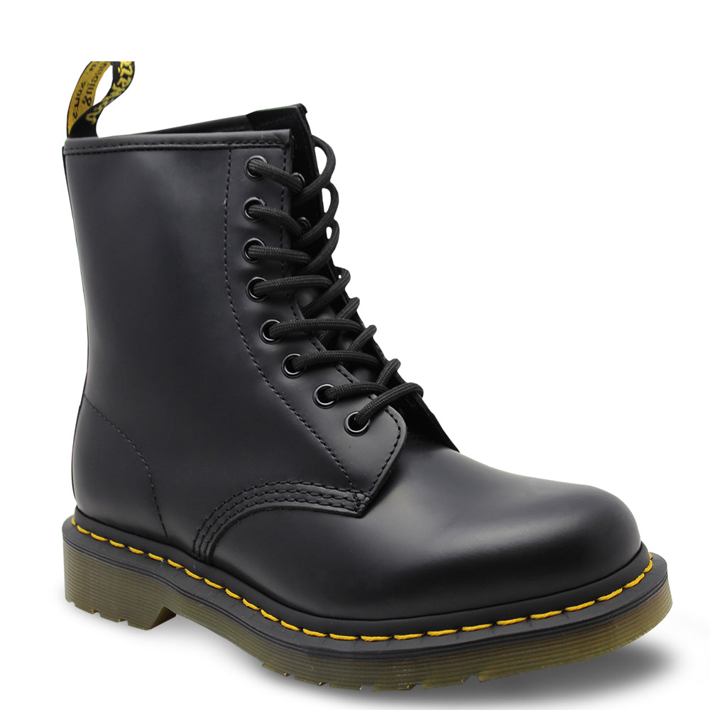 Dr Marten Eight Eyelet Black Boot