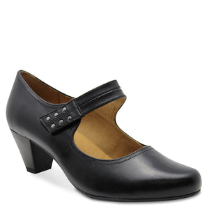 Gino Ventori  Lennon Womens  black court