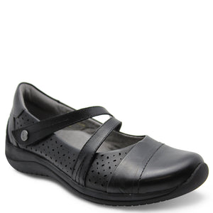 Earth Galilei womens flat casual shoes black