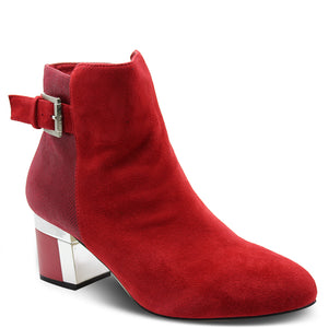Katie N Me Mona Red Womens Boot