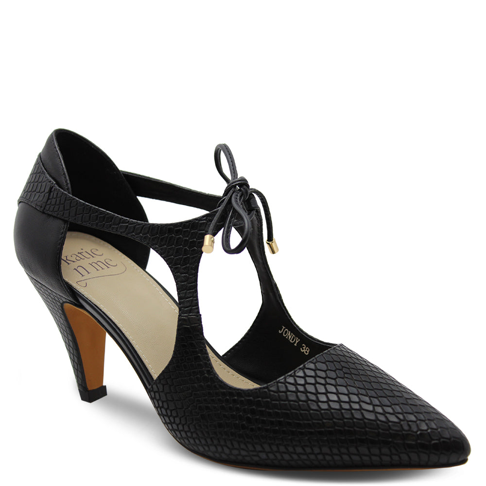 Katie n Me Jondy womens heels Black