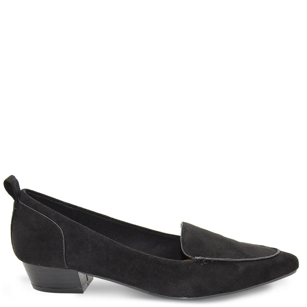 Step On Air Esteem womens low heel shoes black