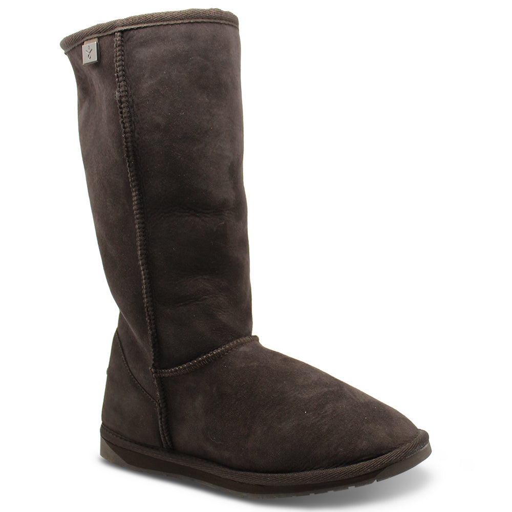 Emu Stinger Hi Chocolate Unisex Ugg Boot