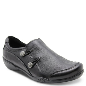 Taos Encore womens flat casual shoes black