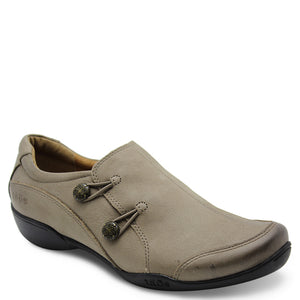 Taos Encore womens flat casual shoes taupe