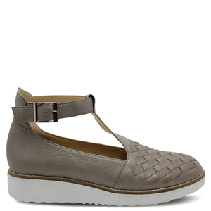 Top End Oddie Tan/White Womens Shoe