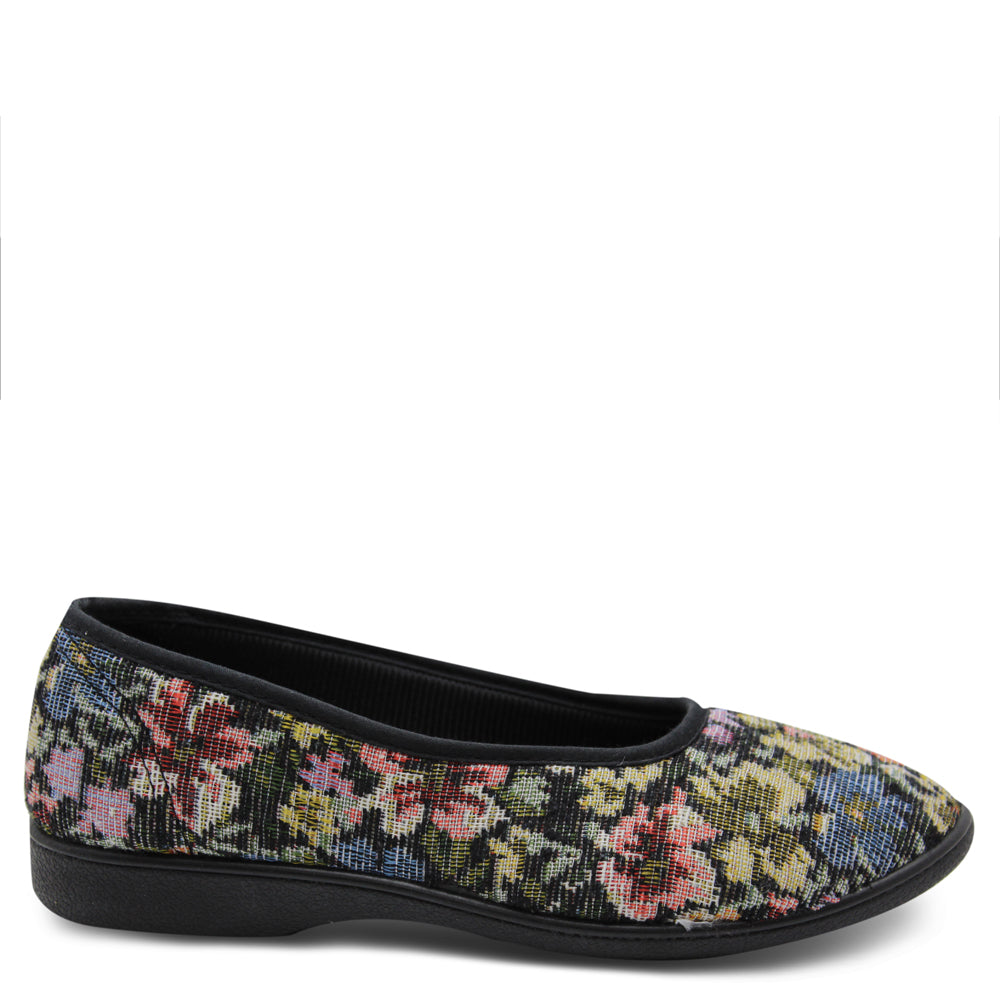 Grosby Carol Floral womens slipper