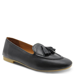Sala illy black womens flat court