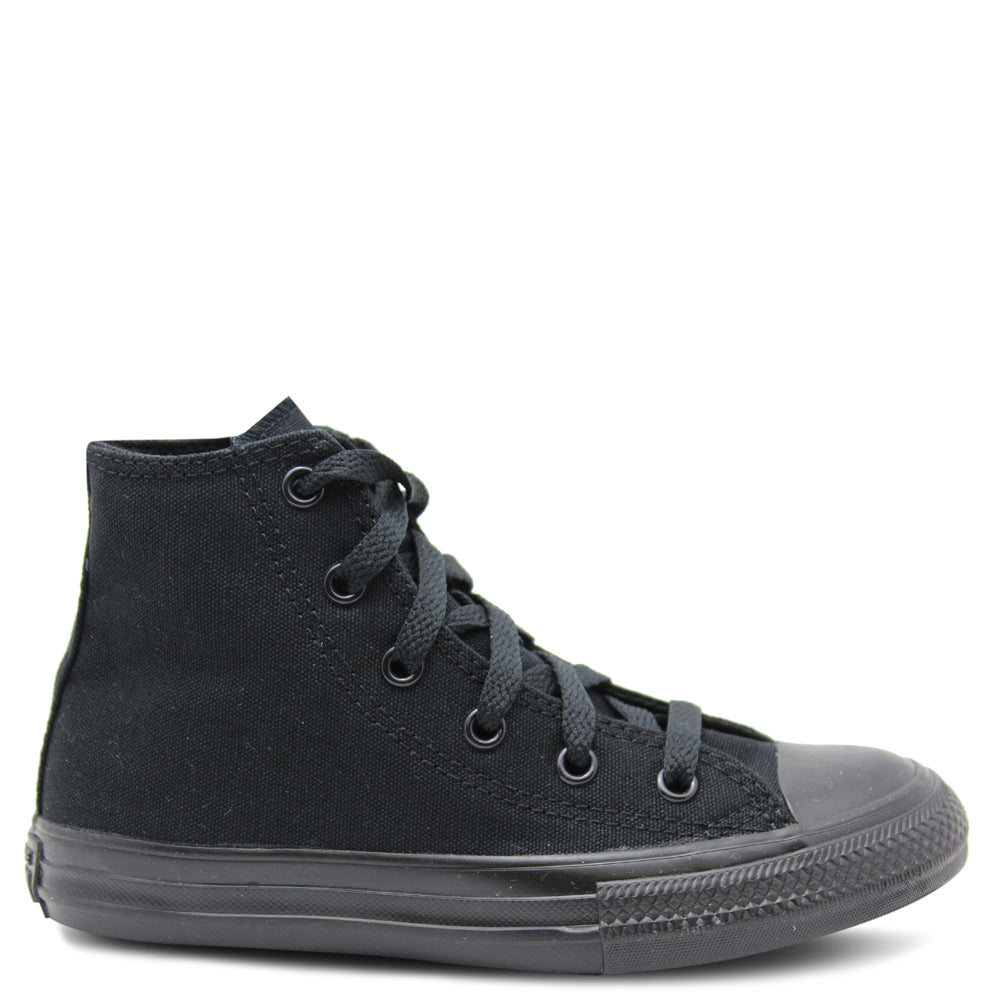 All Star Hi Kids Black mono