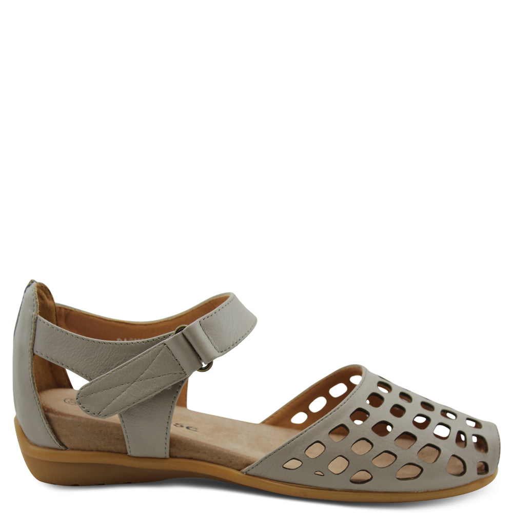 L'eclipse Daquiri womens Stone flat sandal
